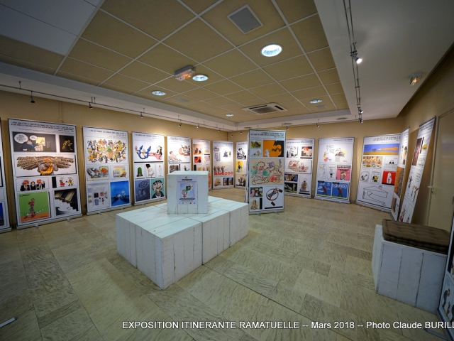 Photographe Claude Burillon : EXPOSITION ITINERANTE