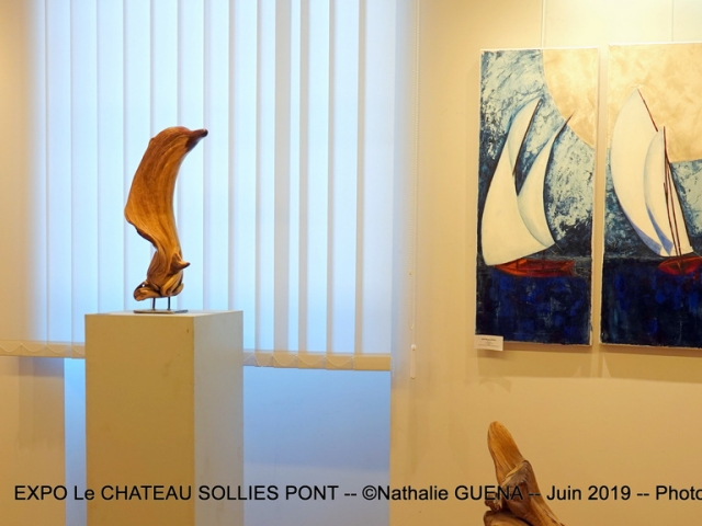 Photographe Claude Burillon : EXPO LE CHATEAU SOLLIES PONT Juin 2019