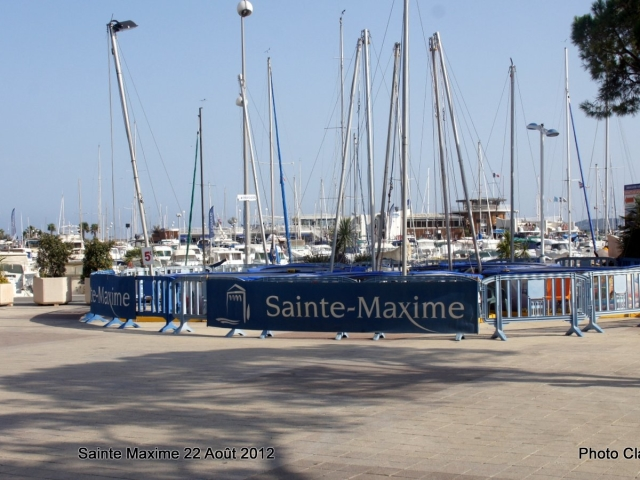 Photographe Claude Burillon : SAINTE MAXIME LE VILLAGE 2012