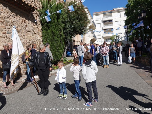Photographe Claude Burillon : FETE VOTIVE SAINTE MAXIME 15-16 MAI 2018