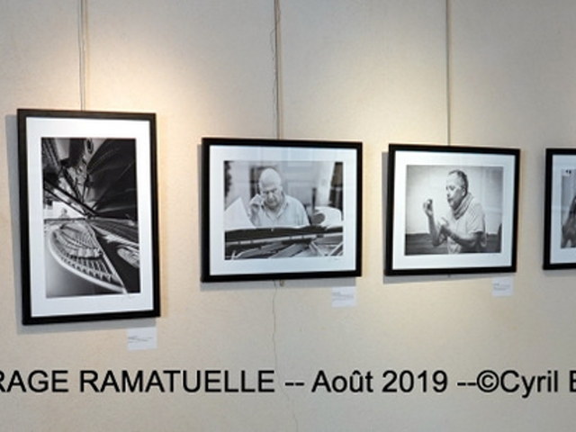 Photographe Claude Burillon : EXPO Cyril BRUNEAU Le GARAGE RAMATUELLE Août 2019