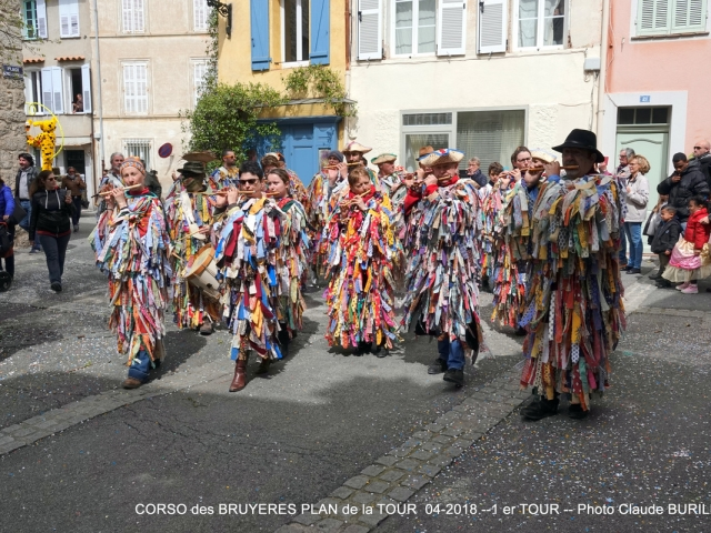 Photographe Claude Burillon : Le PLAN de la TOUR CORSO des BRUYERES Avril 2018