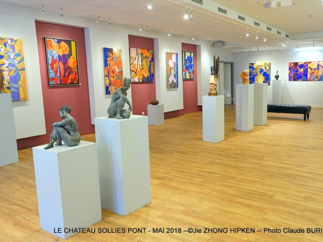 Photographe Claude Burillon : EXPOSITION LE CHATEAU SOLLIES PONT MAI 2018