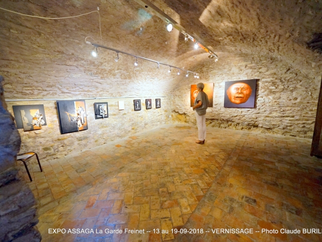 Photographe Claude Burillon : EXPOSITION ASSAGA 3 LA GARDE FREINET 09-2018