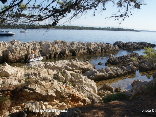 Photographe Claude Burillon : ILE SAINT HONORAT 2011