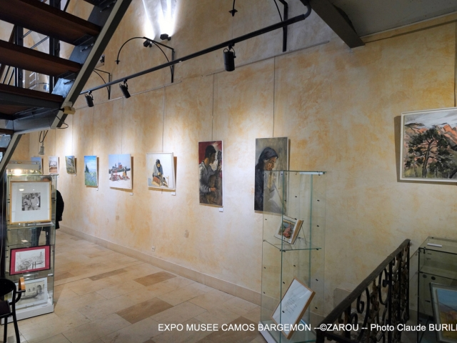 Photographe Claude Burillon : EXPO MUSEE CAMOS BARGEMON - ZAROU - 2020