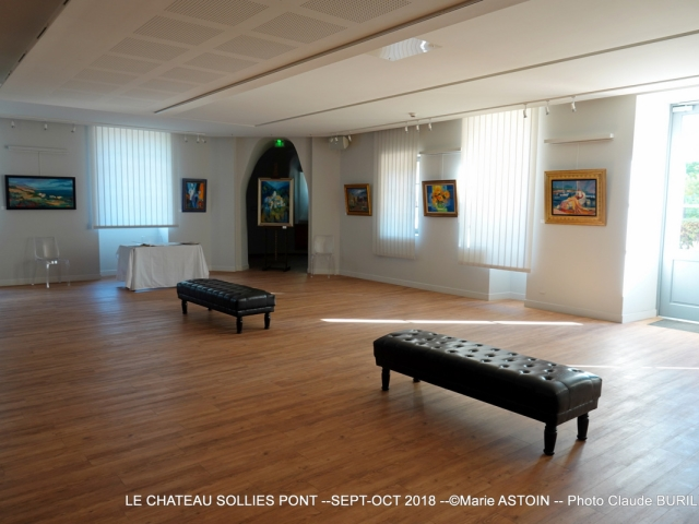 Photographe Claude Burillon : EXPO SOLLIES PONT -- Sept-Oct 2018 -- Marie ASTOIN