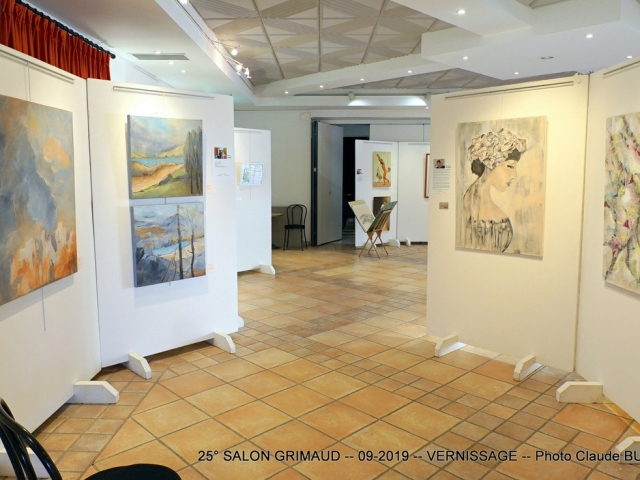 Photographe Claude Burillon : 25° SALON de GRIMAUD AUTOMNE 2019