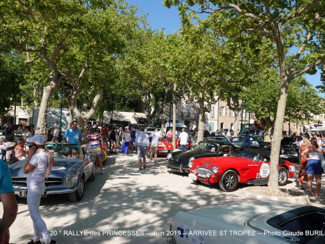 Photographe Claude Burillon : 20° RALLYE des PRINCESSES PARIS ST TROPEZ Juin 2019