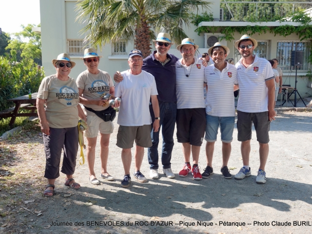 Photographe Claude Burillon : ROC D'AZUR  JOURNEE PETANQUE BENEVOLES MAI 2018