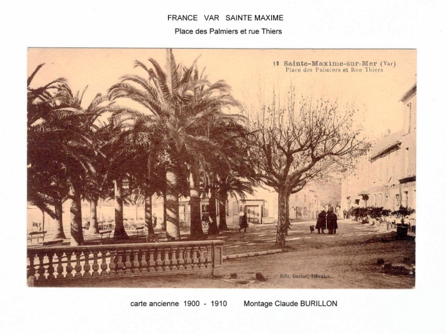 Photographe Claude Burillon : FRANCE SAINTE MAXIME EN CARTES POSTALES