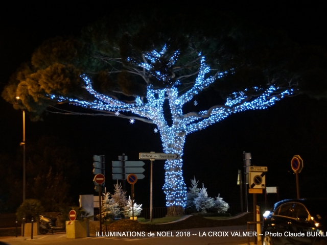Photographe Claude Burillon : ILLUMINATIONS de NOEL 2018