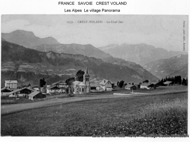 Photographe Claude Burillon : FRANCE SAVOIE EN CARTES POSTALES