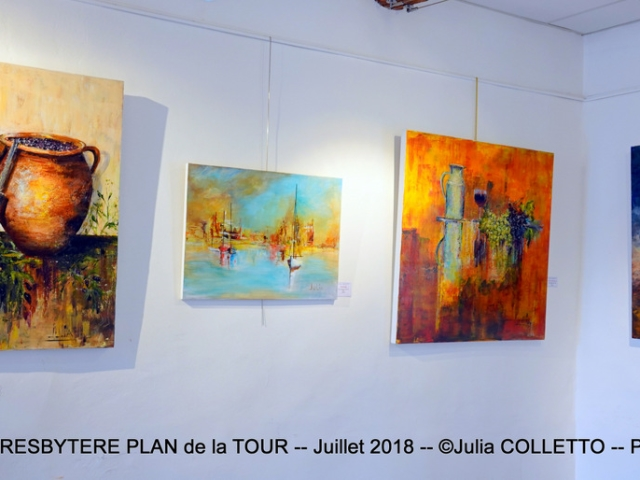 Photographe Claude Burillon : EXPOSITION Pascale BORGEAUD & Julia COLLETTO Juillet 2018